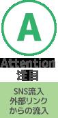 attention注目